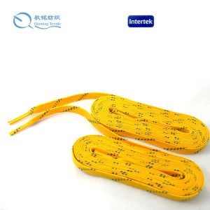 Waxed and Unwaxed Material Hockey Shoelaces pictures & photos
