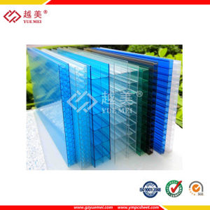 Triple Wall Polycarbonate Roofing Clear Double Wall Polycarbonate Sheet pictures & photos