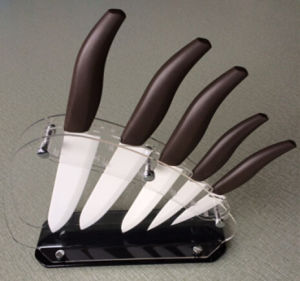 5PC Ceramic Knife with Holder, Ceramic Knife pictures & photos