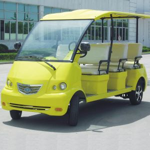 8 Seat Electric Tourist Mini Bus with CE (DN-8) pictures & photos