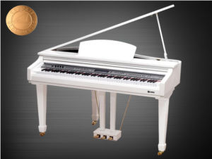 White Baby Grand Piano 88 Keys Mini Grand Digital Piano