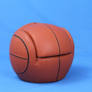 Basketball Children Sport Furniture Baby Ottoman Chair (SXBB-180) pictures & photos