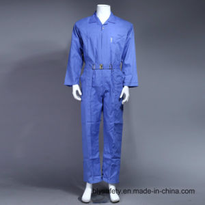 100% Polyester Cheap High Quality Dubai Safety Work Clothes (BLUE) pictures & photos