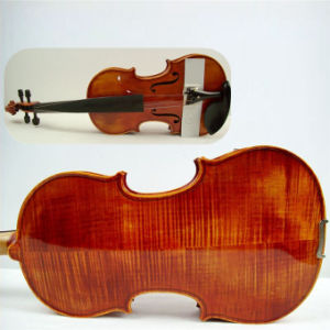 High Grade Handmade Oil Flame Maple Advanced Violin pictures & photos