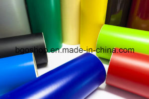 PVC Self Adhesive Vinyl Bus Vinyl Printing Materials (100mic 140g relase paper) pictures & photos
