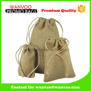 Eco Friendly Flour Bag with Drawstring for Food pictures & photos