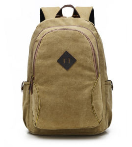 Hot Selling New Fashion School Leisure Canvas Woman Backpack pictures & photos