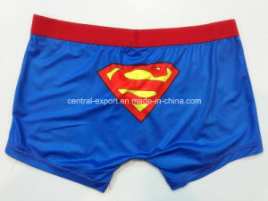 Picture Printed New Style Men′s Boxer Short Underwear pictures & photos
