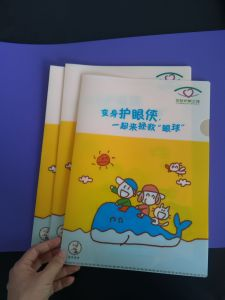 High Quality School Office Supplies Plastic File Folder(document bag) pictures & photos