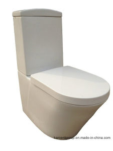Two Piece Ceramic Toilet Ce Washdown Toilet Water Closet Wc 1008A pictures & photos