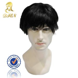 100% Indian Remy Human Hair Men′ S Toupee
