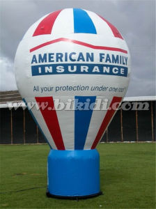 Hot Air Shape Advertising Balloon, Inflatable Ground Balloon K2075 pictures & photos
