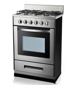 Ce/SAA Certificate Free Standing Oven with Hotplate pictures & photos