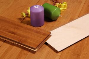 Toast Horizonal HDF Bamboo Flooring pictures & photos