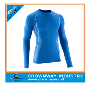 Customized Skins Compression Base Layer Shirts for Men pictures & photos