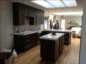 Laminate Paper MDF Kitchen Cabinet pictures & photos