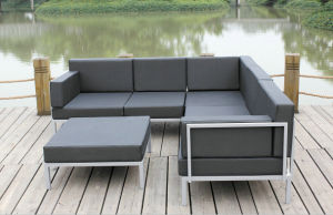 Casual Selectional Metal Sofa Set Aluminum Outdoor Garden Furniture pictures & photos