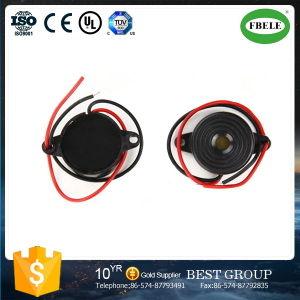 12V Active Piezo Buzzer Black Buzzer with Wire pictures & photos