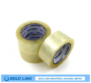 Crystal Clear Packing Adhesive Tapes with Various Sizes pictures & photos