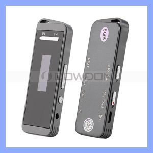 Factory Price 8GB Digital Voice Recorder with LCD Display Music Player pictures & photos