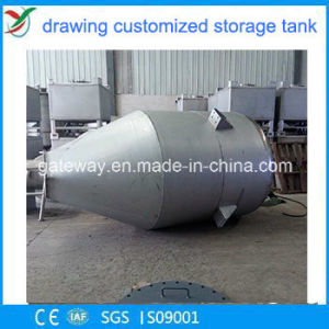 stainless Steel Conical Storage Tank in Foshan