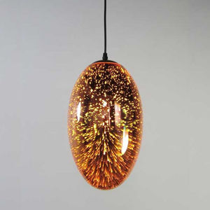 2 Color 3D Glass Hanging Suspension Lamp Lighting for restaurant pictures & photos
