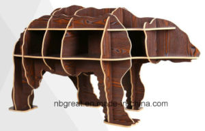 Wooden Bookshelf for Bear Model pictures & photos