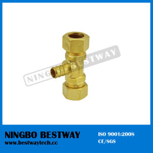 Lead Free Brass Pex Barbed Tees Pipe Fitting pictures & photos
