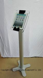 Exhibition Display iPad Kiosk Floor Stand with Poster pictures & photos