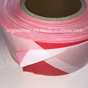 PE Warning Tape for Traffic Guide (Non adhesive) pictures & photos