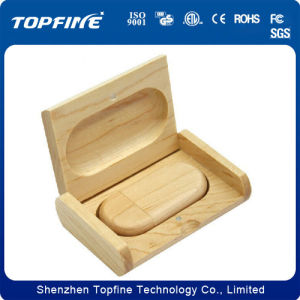 Wooden Box USB Flash Drive with 1GB, 2GB, 4GB, 8GB and 16GB pictures & photos