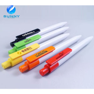 2015 Colorful Cheap Plastic Ball Pen Advertising Pen with Logo Printing pictures & photos