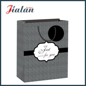 Wholesale Gift Packing Paper Printed Shopping Carrier Gift Bags pictures & photos