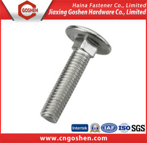 DIN603 Stainless Steel Carriage Bolt pictures & photos