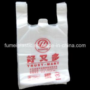 Fumei Disposable Shopping Cheap Plastic T-Shirt Bag
