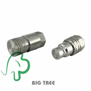 Quick Release Coupler Stainless Steel Flat Face Hydraulic Quick Coupler pictures & photos
