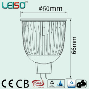 Reflector Cup CREE Chips Scob 6W LED Spot (LS-S006-MR16/GU10) pictures & photos