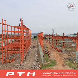 Prefabricated Low Cost Galvanized Steel Structure Building pictures & photos