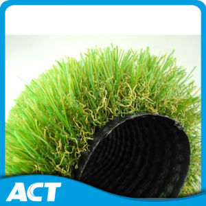 W-Shape Landscape Artificial Grass for Home Decoration 35mm Garden Grass pictures & photos