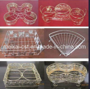 Handicraft Wire Box Storage Racks with High Quality pictures & photos