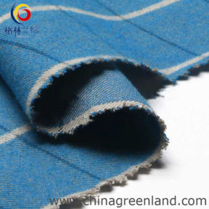 100%Cotton Twill Plaid Fabric for Garment Textile (GLLML042) pictures & photos