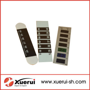 Liquid LCD Forehead Thermometer Strip pictures & photos
