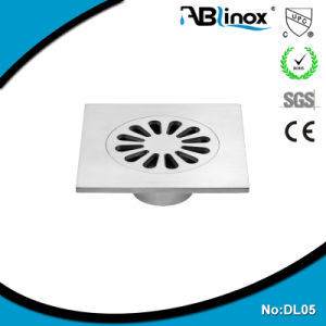 4 Inch Floor Drain Stainless Steel Cover (DL05) pictures & photos