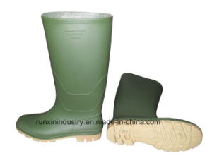 Wellington Type PVC Rain Boots 102gy pictures & photos
