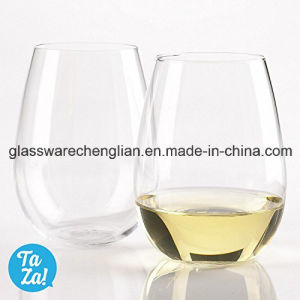 crystal Clear 16oz Stemless Wine Glass (B-WG065) pictures & photos