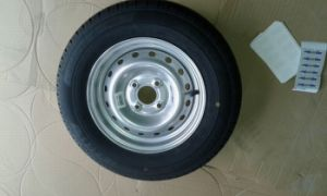 Tire/Wheel/Tyre for EU Market with Powder Coated White Rim pictures & photos