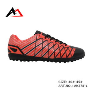 Football Sports Comfortable Soccer Shoes for Men (AK378) pictures & photos