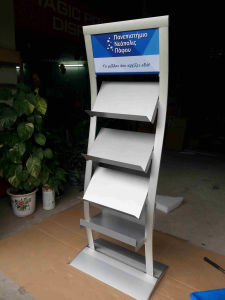 Multifunctional Aluminum Waved Floor Stand pictures & photos