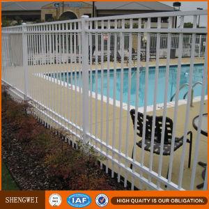 Elegant White Powder spray Wrought Iron Fence pictures & photos