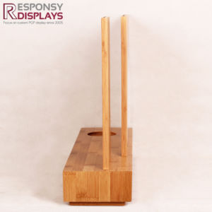 Bamboo Commercial Permanent Display Rack for Nutrition pictures & photos
